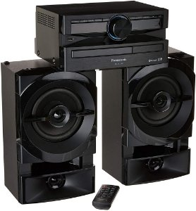 MINI SYSTEM 250W RMS SC-AKX100LBK BLUETOOTH USB