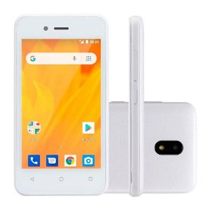 SMARTPHONE MS40G 3G QUAD CORE 8GB DUAL CHIP BRANCO NB729