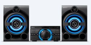 MINI SYSTEM 1600W RMS MHC-M60D BLUETOOTH USB