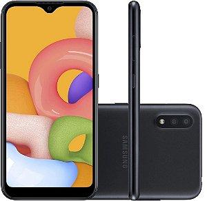 SMARTPHONE GALAXY A01 32GB PRETO