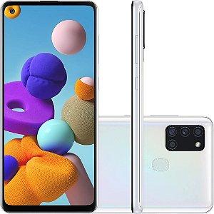 SMARTPHONE GALAXY A21S 64GB BRANCO