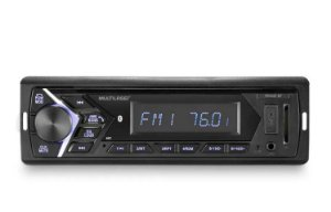 AUTO RADIO 100W RMS BLUETOOTH USB SD MP3 P3337