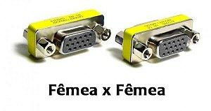 ADAPTADOR VGA FEMEA+FEMEA EMENDA