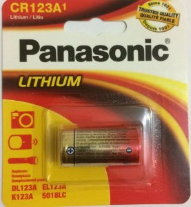 BATERIA PANASONIC DE CAMERA CR123
