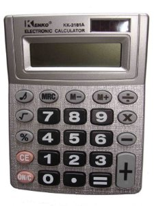 CALCULADORA KENKO MEDIO 8 DIGITOS