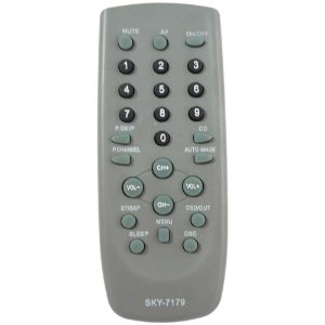 CONTROLE PARA TV CCE CYBER CINZA