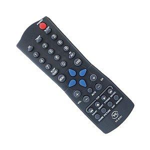 CONTROLE PARA TV PHILIPS VCR PRETA