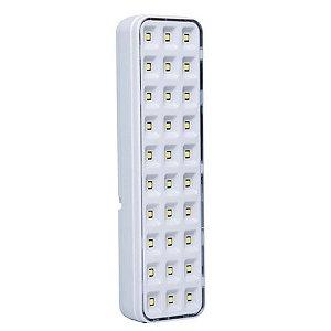 LUZ DE EMERGÊNCIA COM 30 LEDS