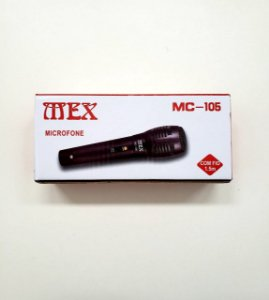 MICROFONE COM FIO MEX