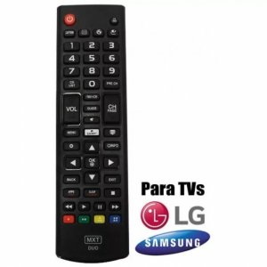 CONTROLE PARA LCD LG/ SAMSUNG SMART DUO