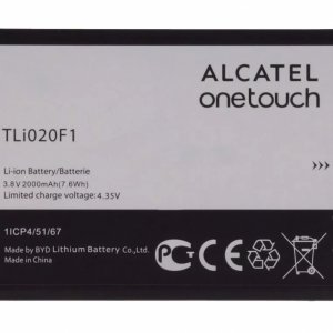 BATERIA DE CELULAR ALCATEL ONETOUCH MOD. TLI020F1