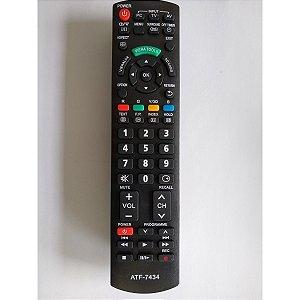 CONTROLE PARA TV LCD SMART PANASONIC VIERA TOOTLS MOD. ATF-7434