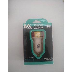 FONTE VEICULAR MAXIMIDIA 2 ENTRADAS USB