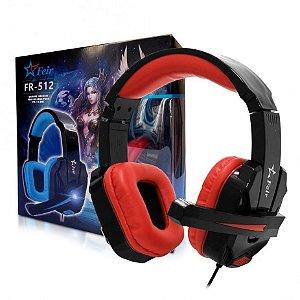 FONE HEADSET GAMER P/ PLAY 4 E XBOX ONE PLUG P2 FEIR FR-512