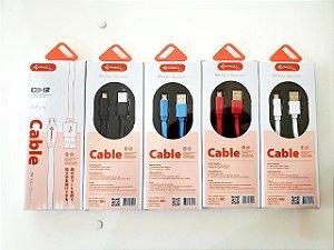 CABO FLAT PMCELL USB V8 1M MOD. CB-12