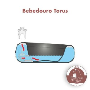 Bebedouro Automático para Cães e Gatos - TORUS - 1 litro