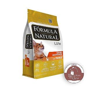 Fórmula Natural - Ração para Gatos Castrados - LIFE - Sabor Frango - 7kg (Pacotes Individuais)