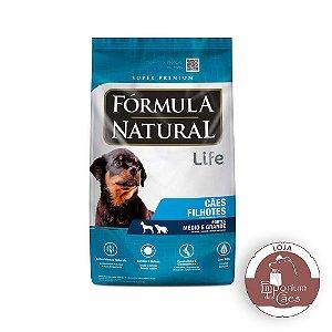 Fórmula Natural - Ração para CÃES Filhotes Raças Médias - 7kg - LIFE (Pacotes Individuais)
