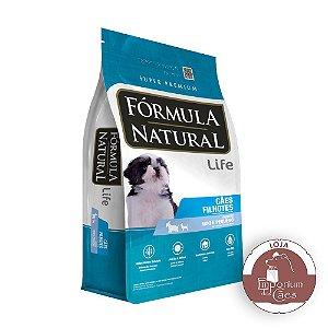 Fórmula Natural - Ração para CÃES Filhotes Raças Mini e Pequenas - 7kg - LIFE (Pacotes Individuais)