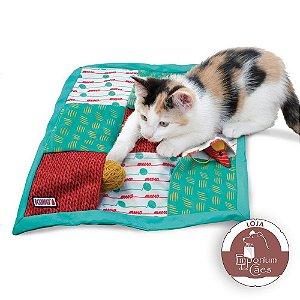Brinquedo para Gato - Tapete Interativo KONG Puzzlements Pockets