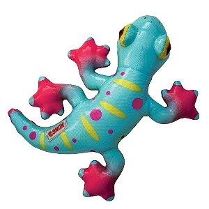Lagartixa - KONG Shieldz Tropics Gecko - Brinquedo para Cães