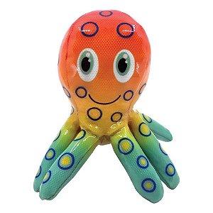 Polvo - KONG Shieldz Tropics Octopus - Brinquedo para Cães