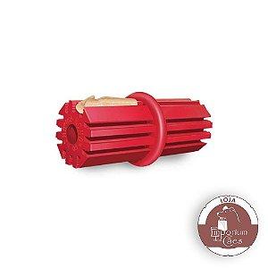 Kong Dental Stick - Brinquedo de Borracha Vermelha - GRANDE