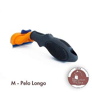 FUnamei - Rasqueadeira Para Redução de Pêlos Variação: M - Pêlo Longo