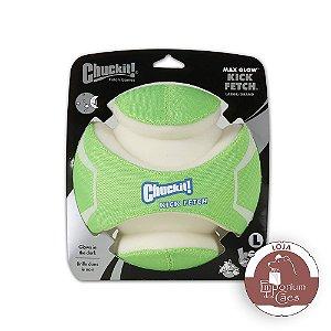 Chuckit! Bola Fluorescente - Kick Fetch Max Glow - GRANDE (gigante!)