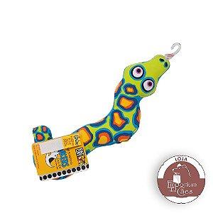Brinquedo para Cães - Strapping Yankers - Cobra Colorida