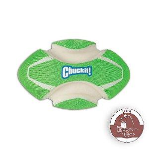 Chuckit! Bola de Futebol Americano - Fumble Fetch Max Glow
