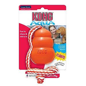 Kong Aqua - Brinquedo para Cães que Flutua na Água - Tamanho GRANDE