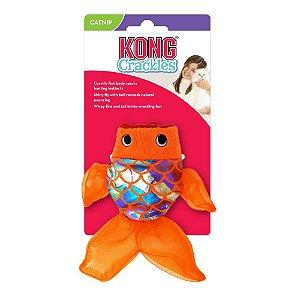 Kong Crackles Gulpz - Peixe de Brinquedo para Gatos
