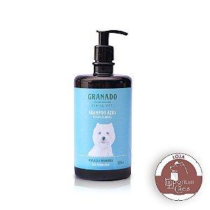 Shampoo Pet Azul 500ml - Para Pêlos Claros - GRANADO