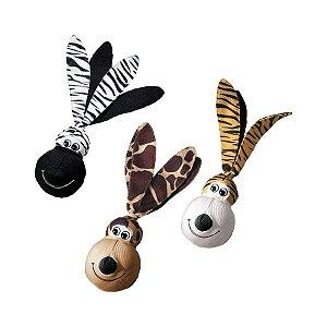 Kong Wubba EARS - Brinquedo para Cachorro com Orelhas - Tamanho GRANDE