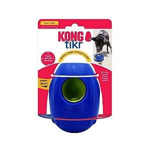 Kong Tikr - Brinquedo Interativo Para Cães - Dispensador de Comida - Tamanho PEQUENO