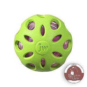 JW Bola Crackle Ball - Bola Com Estalido - GRANDE - Verde