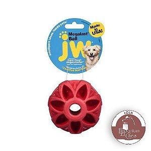JW Holee Megalast Ball - Bola de Borracha para Cães que Oferece Resistência ao Morder - MÉDIA