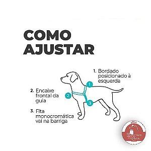 Peitoral Anti-Puxão - Para Cachorros PEQUENOS - Adventure