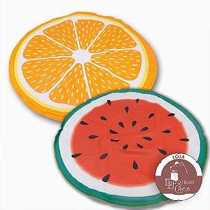 Almofada Gelada Frutas - 60cm diâmetro