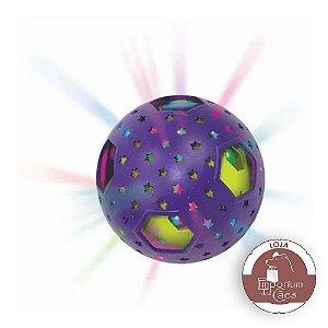 Kong Bat-A-Bout Flicker Disco - Bola Com Luz e Catnip Para GATOS