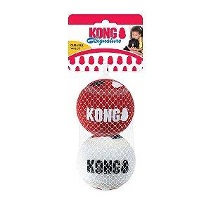 Kong Signature Balls SPORT - Pacote com 2 bolas - Tamanho: GRANDE