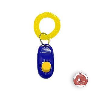 Clicker - Adestrador de Cães - Marcador de Comportamento - Equipamento auxiliar no melhor treinamento para o cachorro *