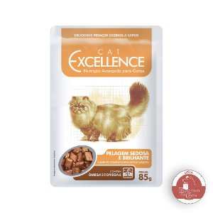 Alimento Úmido Funcional  para GATOS - Excellence Cat PELAGEM Sedosa - Sachê