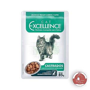Alimento Úmido Funcional  para GATOS - Excellence Cat CASTRADOS - Sachê