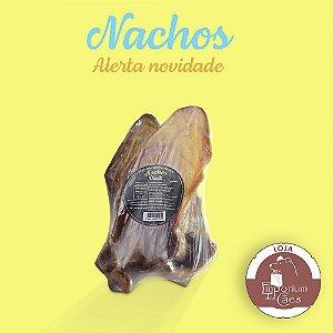 Nachos - Kit 2 Orelhas Suínas - Mordedor Natural para Cães