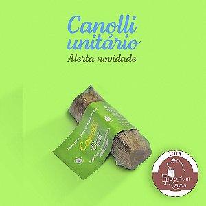 Canolli - Traqueia Bovina Desidratada - Mordedor Natural para Cães