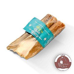 Biju - Kit 3 Orelhas Bovina Enroladinha - Mordedor Natural para Cães