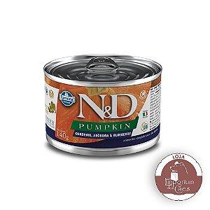 Patê N&D Cães Pumpkin Cordeiro e Blueberry