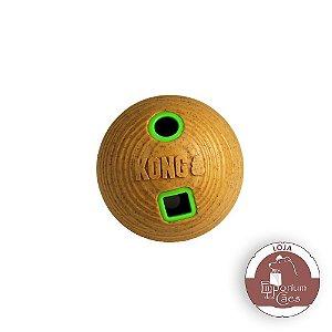 Kong Bamboo Feeder Ball – Tamanho MÉDIO